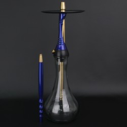 Кальян Alpha Hookah MODEL S Dark Blue