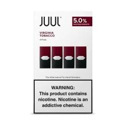 Картридж JUUL Virginia Tobacco 5% (4 шт в пачке)
