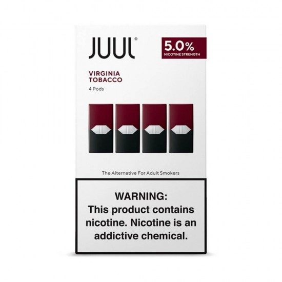 Картридж JUUL Virginia Tobacco 5% (4 шт в пачке)