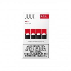 Картридж JUUL Fruit 5% (4 шт в пачке)