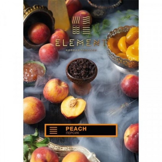 Табак для кальяна Element Peach Water Line 40 гр