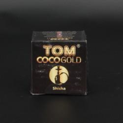 Уголь Tom Coco Gold 8 кубиков (25х25х25)