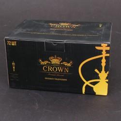 Уголь для кальяна Crown 1 кг (25х25)