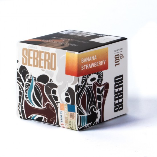 Табак Sebero Banana Strawberry 40 грамм